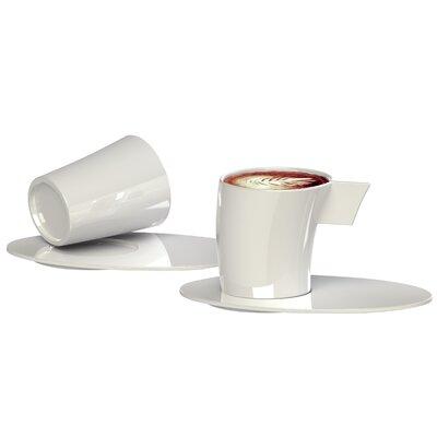 Deagourmet Vento Espresso Cup and Saucer Set