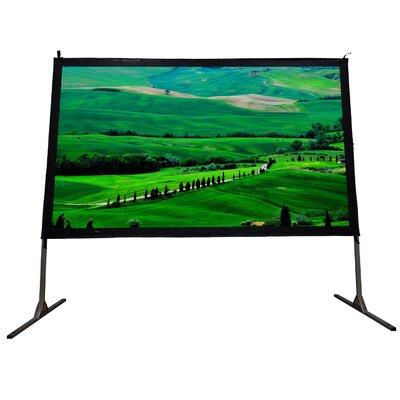 "Cinema White Portable Projection Screen Viewing Area: 120"" Diagonal (50"" x 105"")"