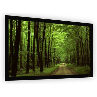 """Perlux-Silver Fixed Frame Projection Screen Viewing Area: 120"""" Diagonal (59"""" x 105"""")"""