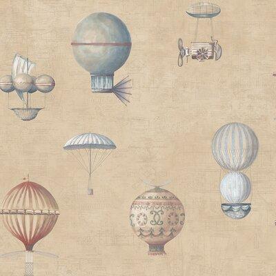 Galerie Home Steampunk Balloons 10m L x 53cm W Roll Wallpaper