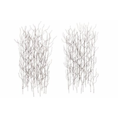 Artisan House 2 Piece Winter Thicket Wall Decor Set