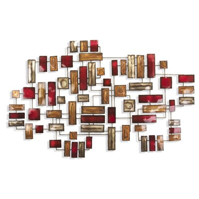 Artisan House Division Red Wall Decor