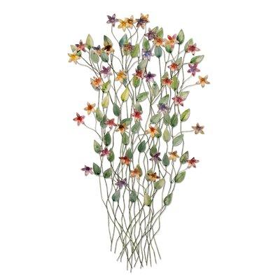 Artisan House Wild flowers Wall Decor