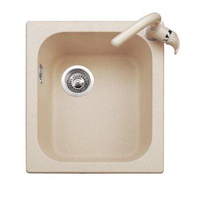 DeltaSRL 50cm x 43cm Kitchen Sink