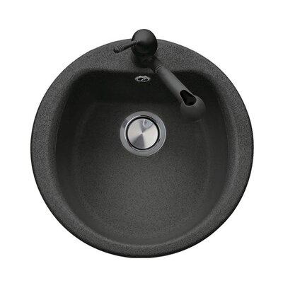 DeltaSRL 51cm x 41cm Round Kitchen Sink