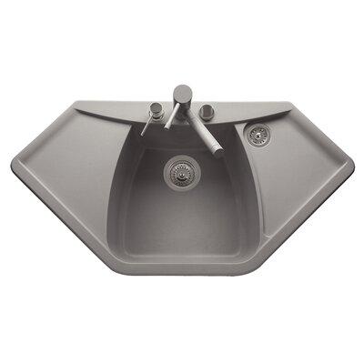 DeltaSRL Naiky 98cm x 51cm Kitchen Sink