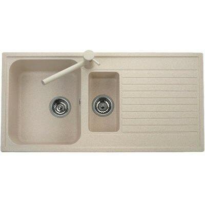 DeltaSRL Futura 99cm x 50cm Kitchen Sink