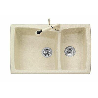 DeltaSRL Vogue 80cm x 50cm Kitchen Sink