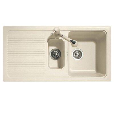 DeltaSRL Domino 99cm x 50cm Kitchen Sink