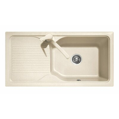 DeltaSRL Domino 99cm x 50cm Big Bowl Kitchen Sink