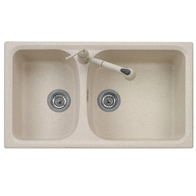 DeltaSRL Vogue 86cm x 50cm Kitchen Sink