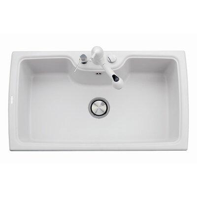 DeltaSRL Naiky 50cm x 88cm Kitchen Sink