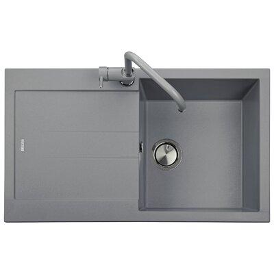 DeltaSRL Amanda 86cm x 50cm Kitchen Sink