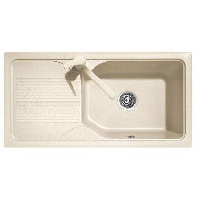 DeltaSRL Domino 86cm x 50cm Kitchen Sink