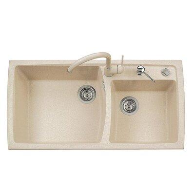DeltaSRL Vogue 99cm x 50cm Kitchen Sink