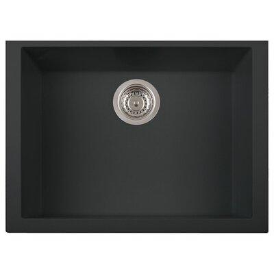 DeltaSRL Cube 60cm x 45cm Undermount Installation Kitchen Sink