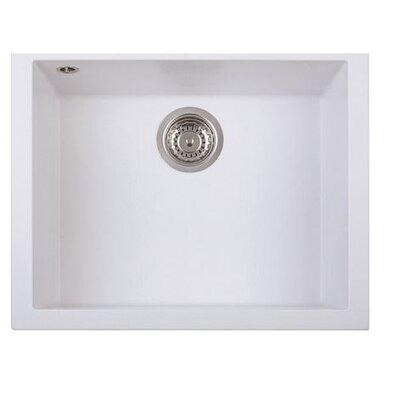 DeltaSRL Cube 56cm x 45cm Undermount Installation Kitchen Sink