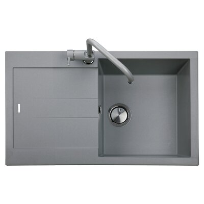 DeltaSRL Amanda 78cm x 50cm Kitchen Sink