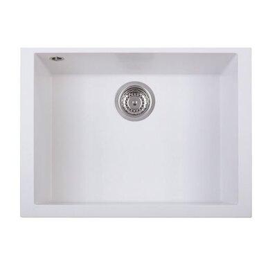 DeltaSRL Cube 51cm x 60cm Kitchen Sink