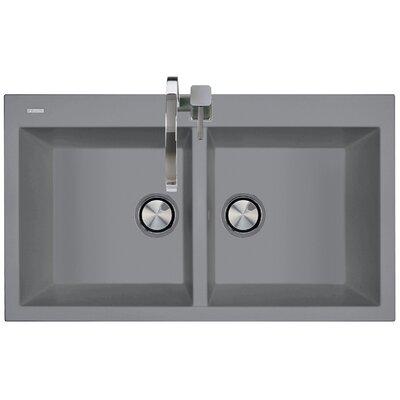 DeltaSRL Amanda 86cm x 51cm Kitchen Sink