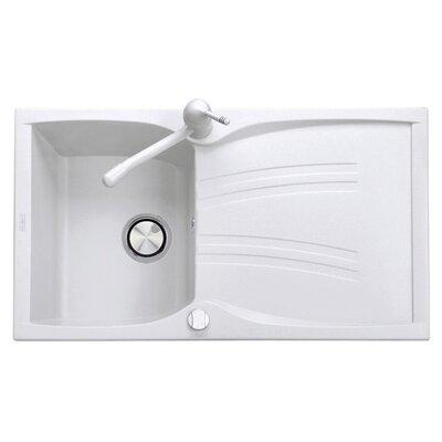 DeltaSRL Naiky 89cm x 50cm Kitchen Sink