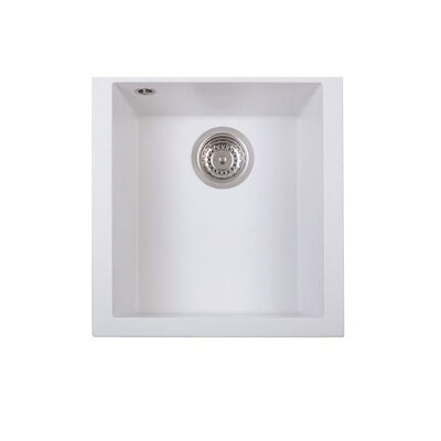 DeltaSRL Cube 41cm x 45cm Composite Kitchen Sink
