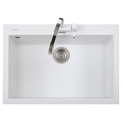 DeltaSRL Cube 76cm x 50cm Kitchen Sink