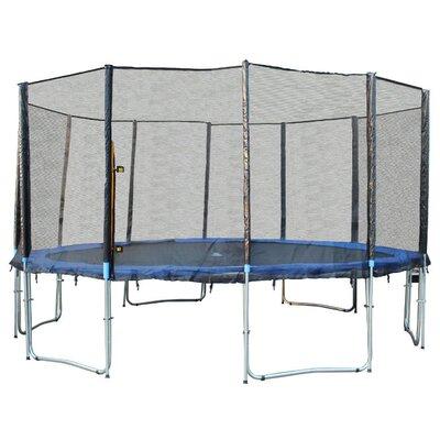16' Round Trampoline with Safety Enclosure