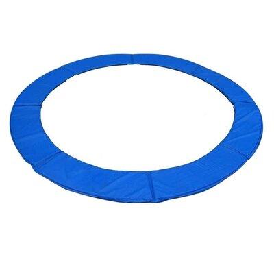 "Trampoline Frame Pad Color: Blue, Size: 0.6"" H x 120"" W x 120"" D"