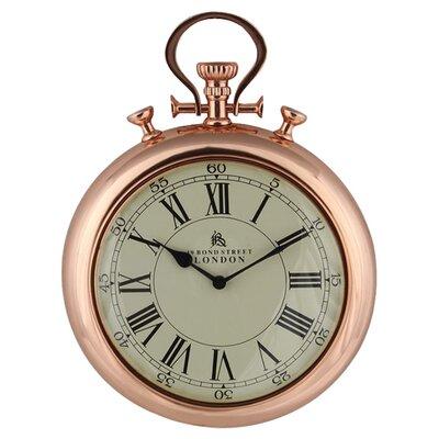 Breakwater Bay Bond Street Stopwatch Wall Clock