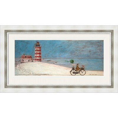 Breakwater Bay The Hat Thief Framed Art Print