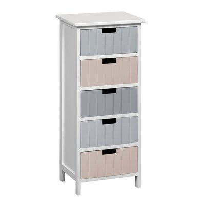 Breakwater Bay Carver 5 Drawer Chest of Drawers