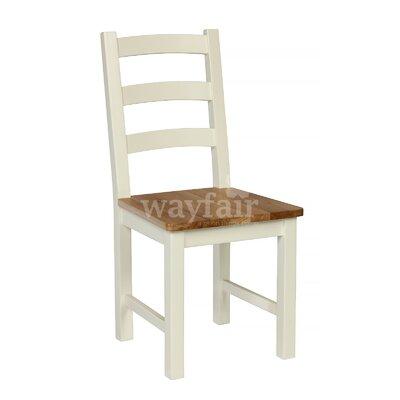 Breakwater Bay Belmoor Solid Oak Dining Chair