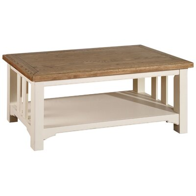 Breakwater Bay Belvidere Coffee Table with Magazine Rack