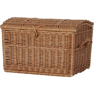 Breakwater Bay Wicker Blanket Box