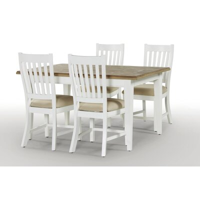 Breakwater Bay Dockside Extendable 150-200 cm Dining Table and 4 Chairs