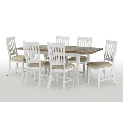 Breakwater Bay Dockside Extendable Dining Table and 4 Chairs