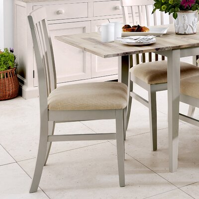 Breakwater Bay Chatham Pine Upholstered Dining Chair