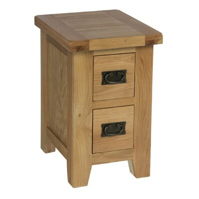 Breakwater Bay Trewick 2 Drawer Bedside Table