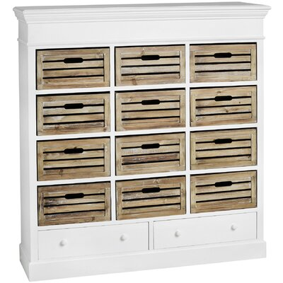 Breakwater Bay Anglesey 14 Drawer Chest