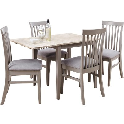 Breakwater Bay Chatham Extendable Dining Table and 4 Chairs