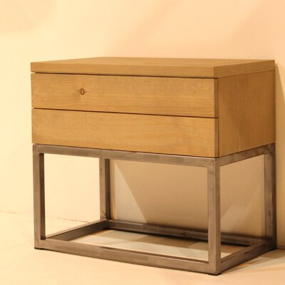 Añil Diseno Tilo Bedside Table