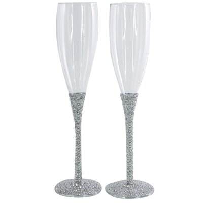 Aulica Deluxe Diamond Toasting Champagne Flute