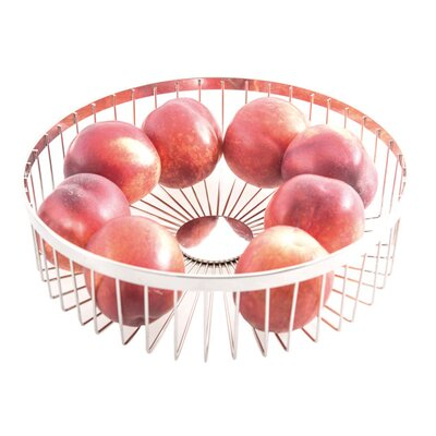 Aulica Iron Wire Small Round Spider Fruit Basket