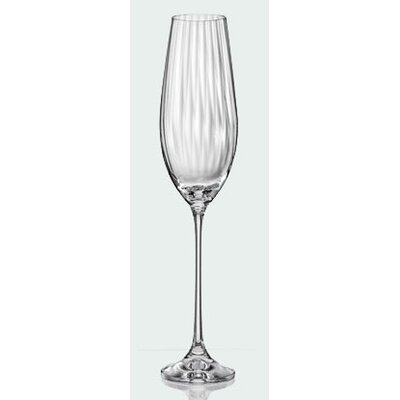 Aulica Waterfall Champagne Flute