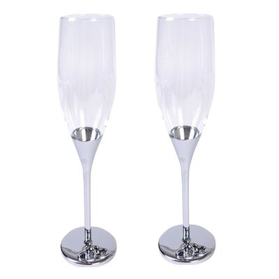 Aulica Heart Champagne Flute