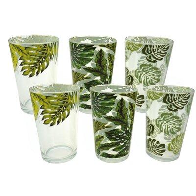 Aulica Leave 6 Piece Cup Set