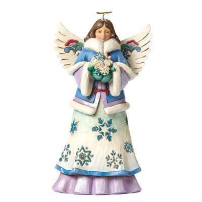 Heartwood Creek May Blessings Fall Upon You Wonderland Angel Figurine