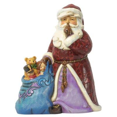 Heartwood Creek Silent Night Delivery Santa Figurine