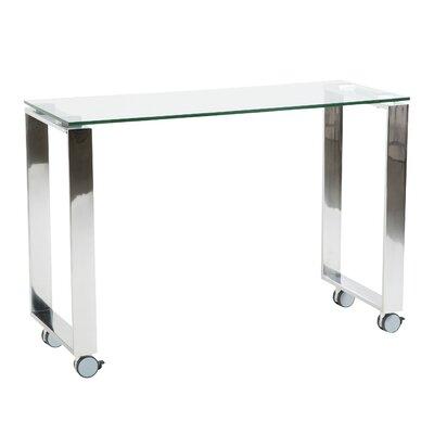 """Pramod 40"""" Console Table Color: Clear"""